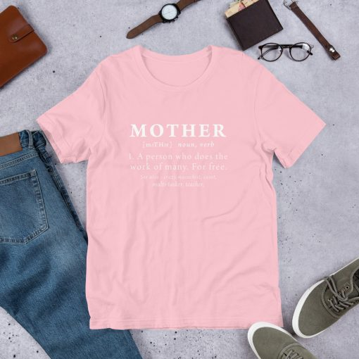 Definition Mother's Short Sleeve Unisex T Shirt