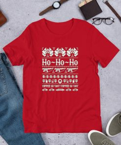 Die Hard Ho Ho Ho Short Sleeve Unisex T Shirt