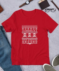 storm trooper star wars christmas ugly Short Sleeve Unisex T Shirt