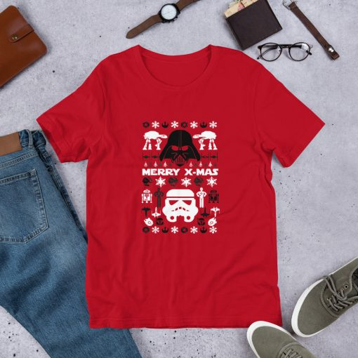 star wars ugly red Short Sleeve Unisex T Shirt