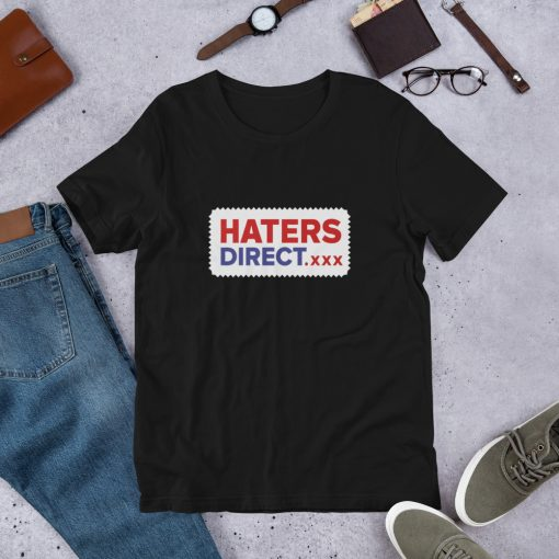 Haters Direct xxx Short Sleeve Unisex T Shirt